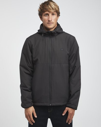 4 Transport - Windbreaker for Men Black Q1JK05BIF9 Billabong