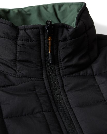 16 Boundary - Reversible Puffer Jacket for Men Black Q1JK06BIF9 Billabong