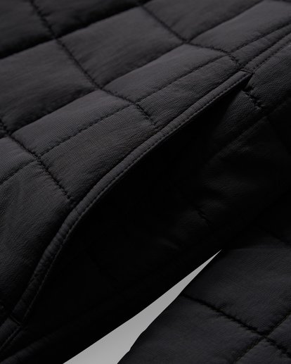 7 Boundary - Reversible Puffer Jacket for Men Black Q1JK06BIF9 Billabong