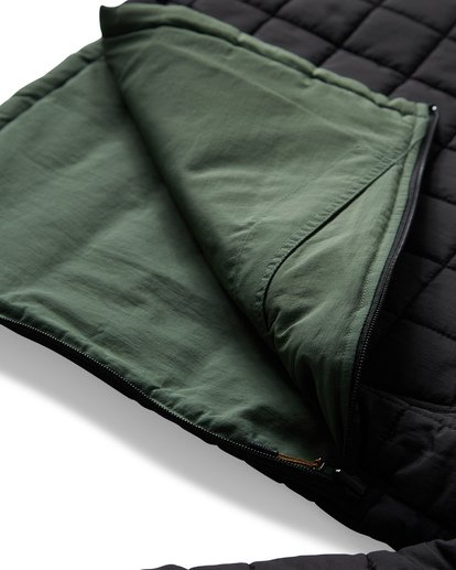 19 Boundary - Reversible Puffer Jacket for Men Black Q1JK06BIF9 Billabong