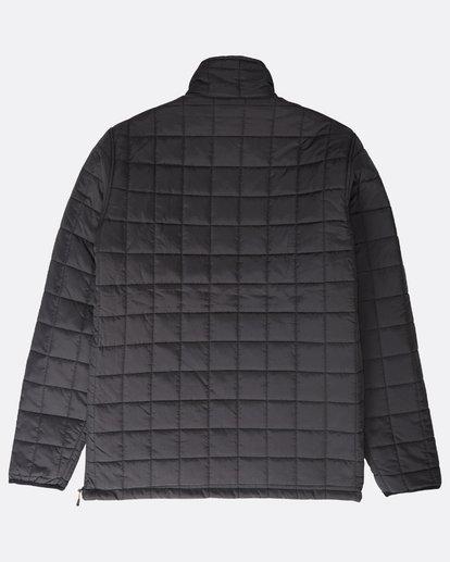 11 Boundary - Reversible Stepp-Jacke für Männer Schwarz Q1JK06BIF9 Billabong