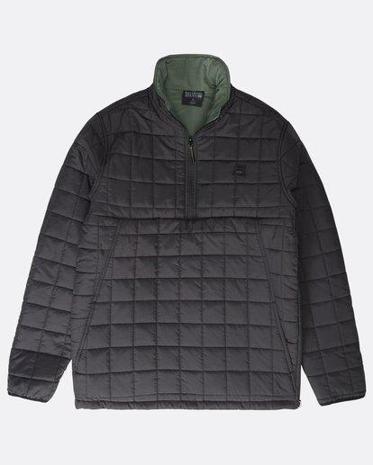 10 Boundary - Reversible Stepp-Jacke für Männer Schwarz Q1JK06BIF9 Billabong