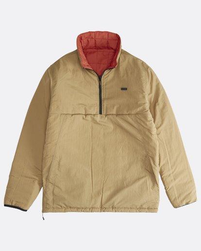 2 Boundary - Reversible Puffer Jacket for Men Multicolor Q1JK06BIF9 Billabong
