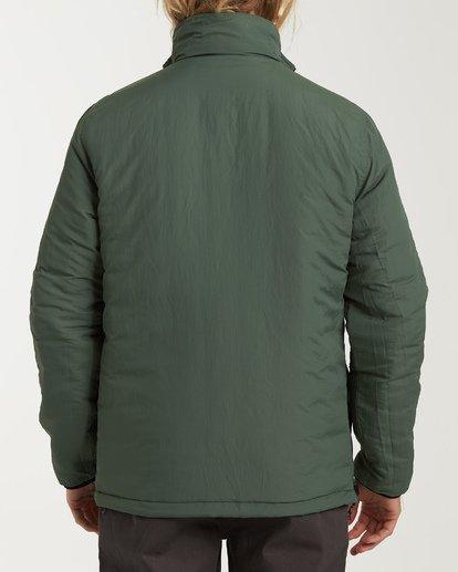 3 Boundary - Reversible Puffer Jacket for Men Black Q1JK06BIF9 Billabong