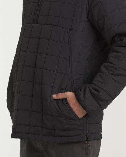 6 Boundary - Reversible Stepp-Jacke für Männer Schwarz Q1JK06BIF9 Billabong