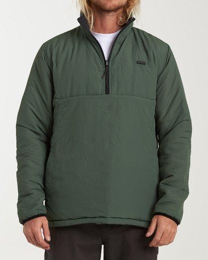 1 Boundary - Reversible Stepp-Jacke für Männer Schwarz Q1JK06BIF9 Billabong