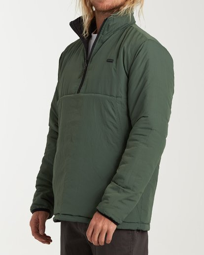 5 Boundary - Reversible Stepp-Jacke für Männer Schwarz Q1JK06BIF9 Billabong