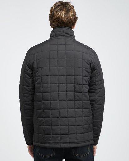 21 Boundary - Reversible Stepp-Jacke für Männer Schwarz Q1JK06BIF9 Billabong