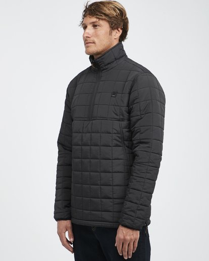 22 Boundary - Reversible Stepp-Jacke für Männer Schwarz Q1JK06BIF9 Billabong