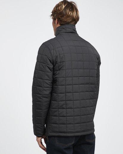 23 Boundary - Reversible Stepp-Jacke für Männer Schwarz Q1JK06BIF9 Billabong