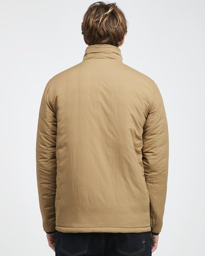 23 Boundary - Reversible Puffer Jacket for Men Multicolor Q1JK06BIF9 Billabong