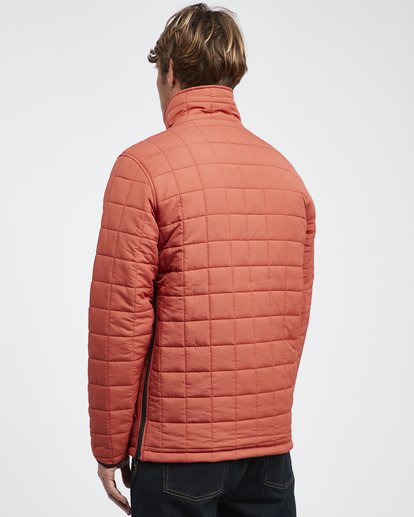 21 Boundary - Reversible Puffer Jacket for Men Multicolor Q1JK06BIF9 Billabong