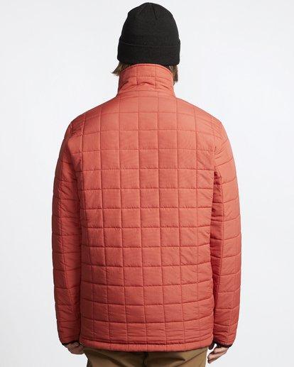 5 Boundary - Reversible Puffer Jacket for Men Multicolor Q1JK06BIF9 Billabong