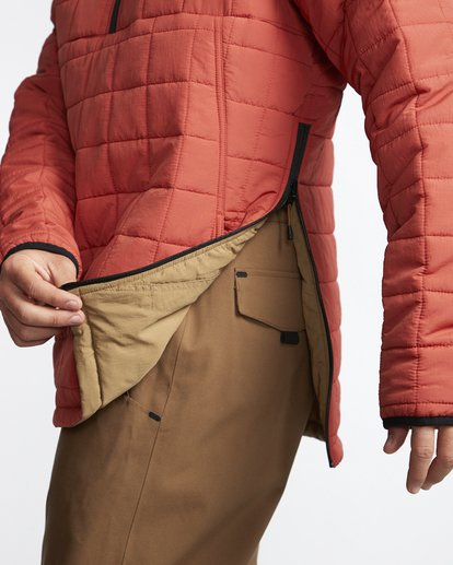 9 Boundary - Reversible Puffer Jacket for Men Multicolor Q1JK06BIF9 Billabong