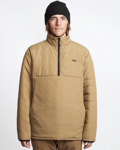 10 Boundary - Reversible Puffer Jacket for Men Multicolor Q1JK06BIF9 Billabong