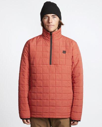 4 Boundary - Reversible Puffer Jacket for Men Multicolor Q1JK06BIF9 Billabong