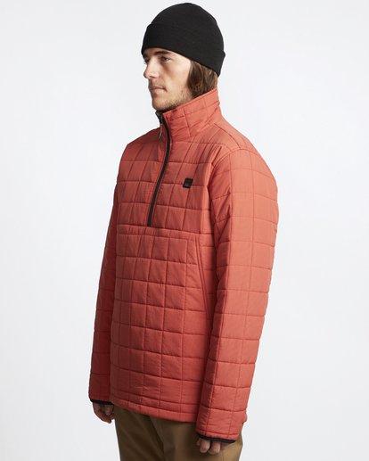 6 Boundary - Reversible Puffer Jacket for Men Multicolor Q1JK06BIF9 Billabong