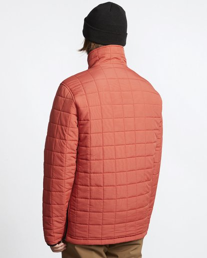 7 Boundary - Reversible Puffer Jacket for Men Multicolor Q1JK06BIF9 Billabong