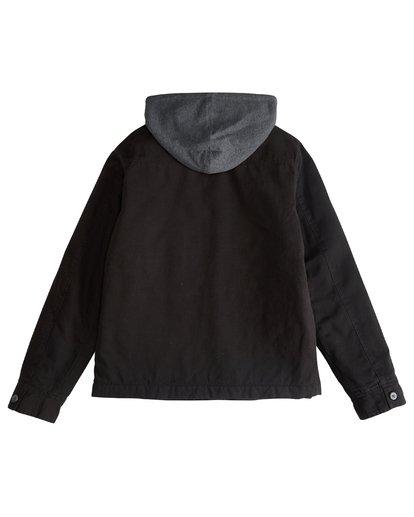 3 Barlow Twill - Jacke für Männer Schwarz Q1JK09BIF9 Billabong