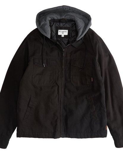 2 Barlow Twill - Jacke für Männer Schwarz Q1JK09BIF9 Billabong