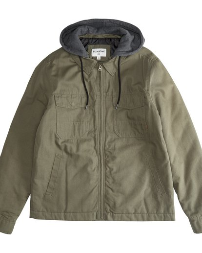 2 Barlow Twill - Jacket for Men  Q1JK09BIF9 Billabong