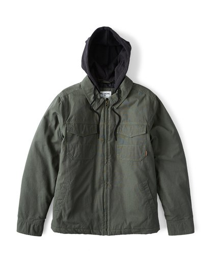 3 Barlow Twill - Jacket for Men  Q1JK09BIF9 Billabong
