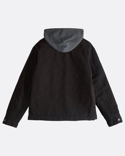 1 Barlow Twill - Jacke für Männer Schwarz Q1JK09BIF9 Billabong