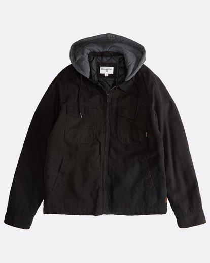 0 Barlow Twill - Jacke für Männer Schwarz Q1JK09BIF9 Billabong