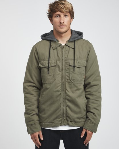 8 Barlow Twill - Jacket for Men  Q1JK09BIF9 Billabong
