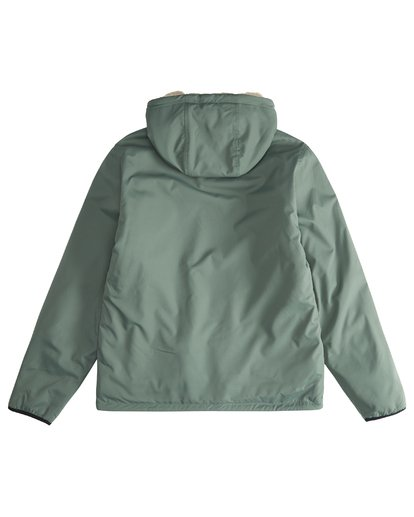 4 Switchback - Reversible Jacket for Men Green Q1JK12BIF9 Billabong