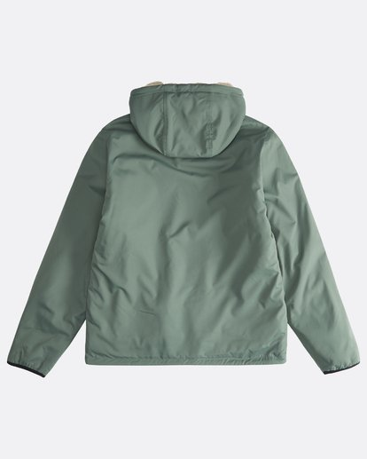 1 Switchback - Reversible Jacket for Men Green Q1JK12BIF9 Billabong