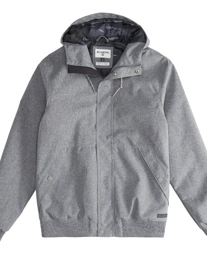 2 All Day - Chaqueta 10K para Hombre Gris Q1JK13BIF9 Billabong