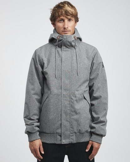 4 All Day - Chaqueta 10K para Hombre Gris Q1JK13BIF9 Billabong