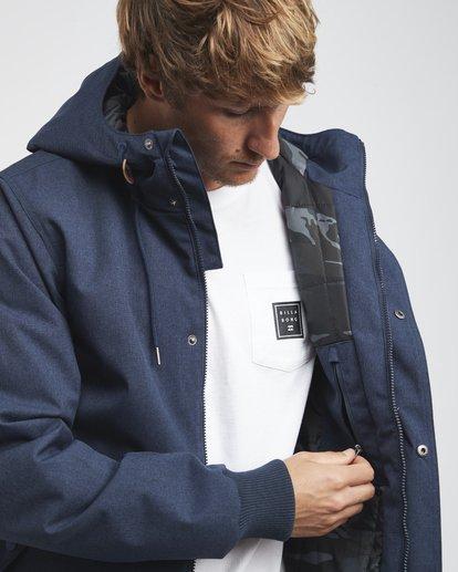2 All Day - 10K Jacket for Men Blue Q1JK13BIF9 Billabong