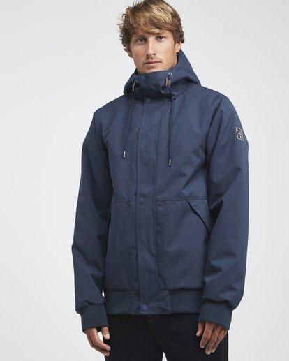 0 All Day - 10K Jacket for Men Blue Q1JK13BIF9 Billabong
