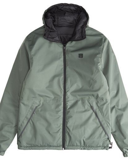 3 Transport Revo - 10K Jacket for Men Green Q1JK14BIF9 Billabong
