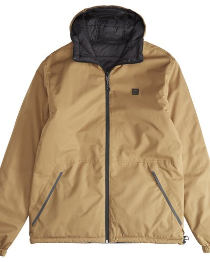 3 Transport Revo - 10K Jacket for Men Beige Q1JK14BIF9 Billabong