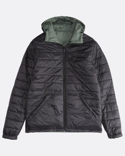 2 Transport Revo - 10K Jacket for Men Green Q1JK14BIF9 Billabong