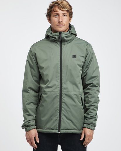6 Transport Revo - 10K Jacket for Men Green Q1JK14BIF9 Billabong