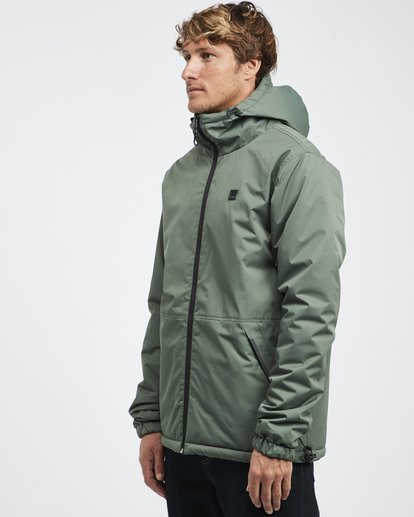 8 Transport Revo - 10K Jacket for Men Green Q1JK14BIF9 Billabong