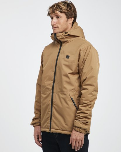 8 Transport Revo - 10K Jacket for Men Beige Q1JK14BIF9 Billabong