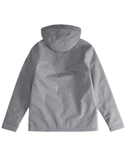 3 Matt - 10K Jacke für Männer Grau Q1JK18BIF9 Billabong