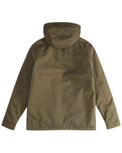 3 Matt - 10K Jacke für Männer Grün Q1JK18BIF9 Billabong