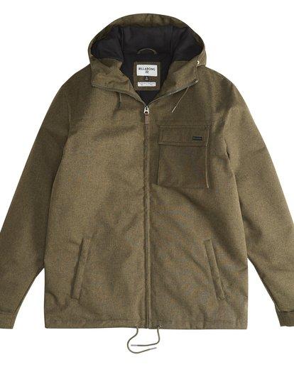2 Matt - 10K Jacke für Männer Grün Q1JK18BIF9 Billabong
