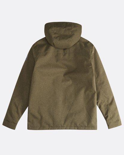 1 Matt - 10K Jacke für Männer Grün Q1JK18BIF9 Billabong