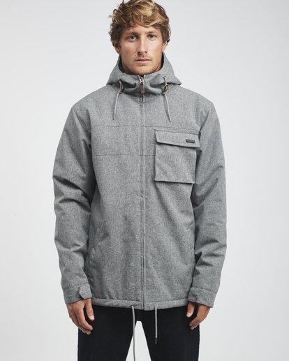 4 Matt - 10K Jacke für Männer Grau Q1JK18BIF9 Billabong