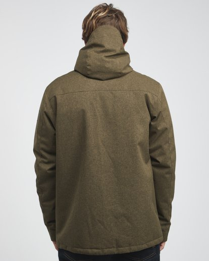 6 Matt - 10K Jacke für Männer Grün Q1JK18BIF9 Billabong