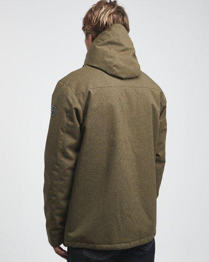 7 Matt - 10K Jacke für Männer Grün Q1JK18BIF9 Billabong