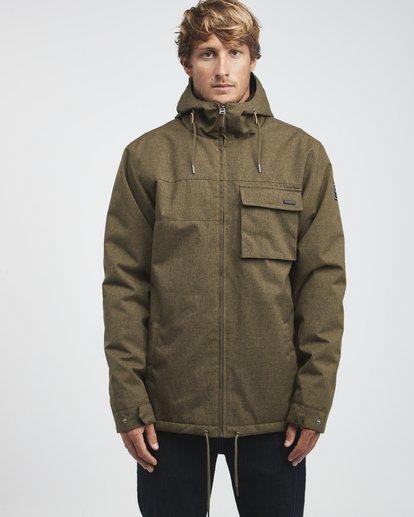 4 Matt - 10K Jacke für Männer Grün Q1JK18BIF9 Billabong