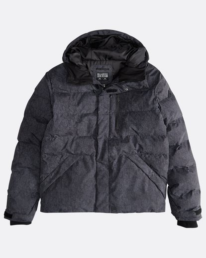 0 Bunker - 10K Puffer Jacket for Men Black Q1JK20BIF9 Billabong